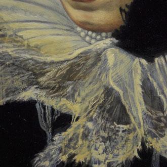 Métamorphose IV - Huile sur toile (Détail) F.MARTIN©