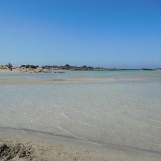 Strand, Elafonissi, Kreta