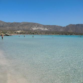 Traumstrand, Elafonissi, Kreta