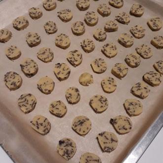Kekse mit Schokostücken, glutenfrei