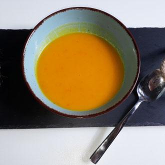 Kürbis Kokos Suppe - glutenfrei -