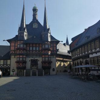 Rathaus Wernigerode, Harz, Sachsen- Anhalt