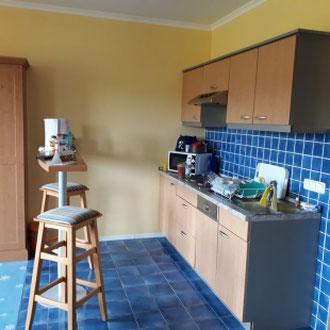 Küchenzeile, Appartement  Familotel Elldus Resort, Oberwiesenthal, Erzgebirge, Sachsen