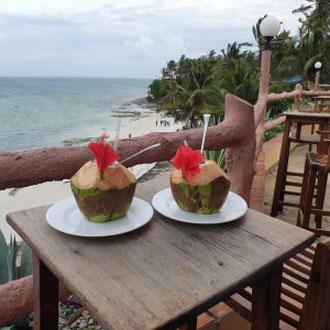 Cocktail, Hotel Bahari Beach, Nordküste, Kenia, Afrika