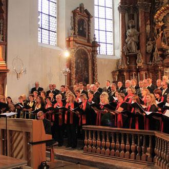 Silcherchor & Cantemus Frauenstimmen Ehingen, Steinhausen & Ehingen Juli 2015