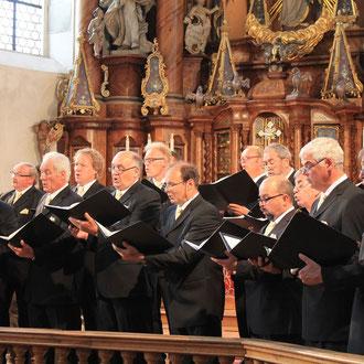 Silcherchor & Cantemus Frauenstimmen Ehingen, in Steinhausen & Ehingen Juli 2015