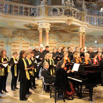 """25. Mai 2019 - """"Der Rose Pilgerfahrt"""" - Bibliotheksaal in Bad Schussenried"""