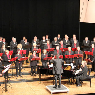 Silcherchor & Red Mäps, Konzert in Laupheim April 2015