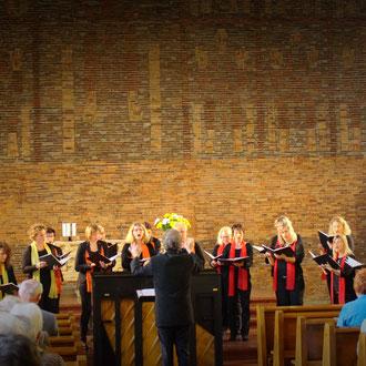 Te deum laudamus Cantemus Frauenstimmen Ehingen & Silcherchor Donau-Bussen in Birkendorf St. Josef 11. Juni 2016