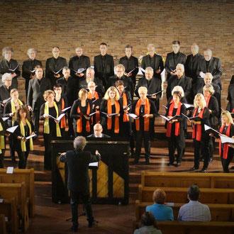 Te deum laudamus Silcherchor Donau-Bussen & Cantemus Frauenstimmen Ehingen in Birkendorf St. Josef 11. Juni 2016