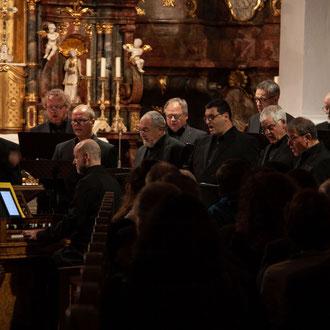"""19. Oktober 2019 - """"Uraufführung des Ave Maria von Oliver Drechsel / Requiem von Cherubini / Gesang der Geister über den Wasser von Schubert"""" - Wallfahrtskirche Steinhausen"""