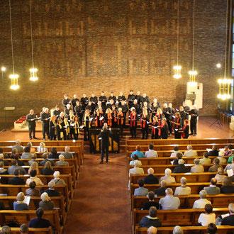 Te deum laudamus - Silcherchor & Cantemus Frauenstimmen Ehingen in Birkendorf St. Josef 11. Juni 2016