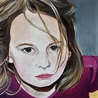 CHIARA                                                    Acryl auf Leinwand    50 x 70
