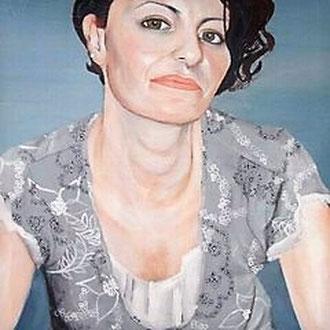BARBARA                                                Acryl auf Leinwand      40 x 40