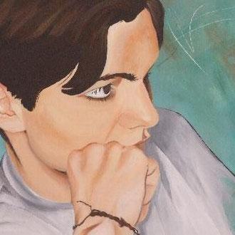 PHILIP                                                      Acryl  auf Leinwand            50 x 70