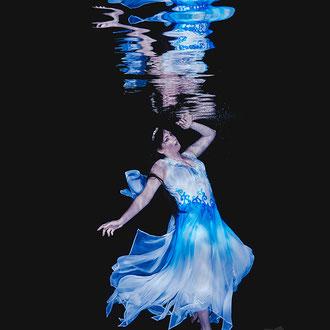 Mode, Schmuck und Model Unterwasser
