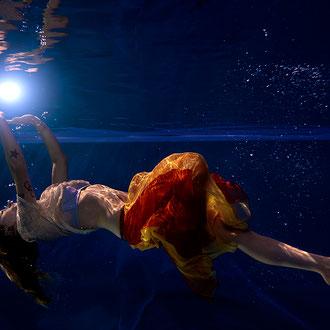Unterwassermodelfotografie