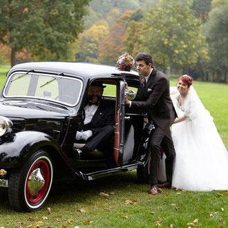 Hochzeitsfotos mit besonderen Bildideen