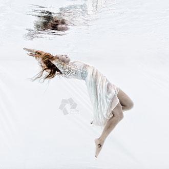 High Key Unterwasser Fotos