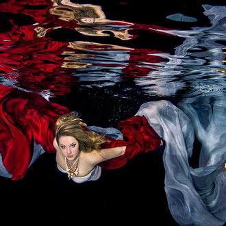 Unterwasserfashion Fotograf