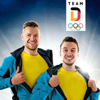 Team Deutschland Werbekampagne Olympia 2018