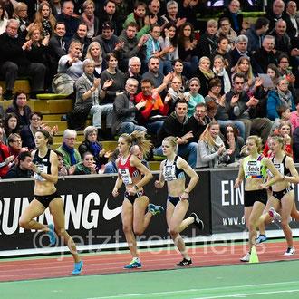 Christina Hering; LG Stadtwerke München  / Rebekka Ackers; TSV Bayer 04 Leverkusen / Tanja Spill; LAV Bayer Uerdingen/Dormagen / Johanna Christine Schulz; SC Rönnau 74 / Nele Weßel; SCC Berlin