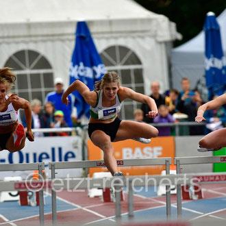 Karin Strametz; Österreich / Sara Hannemann; TSV Wehdel / Anne Weigold; LG Mittweida