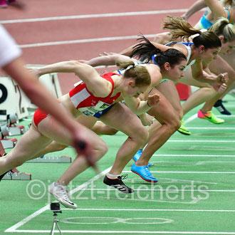 60m Hürden Finale der Frauen