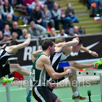 60m Hürden Finale der Männer