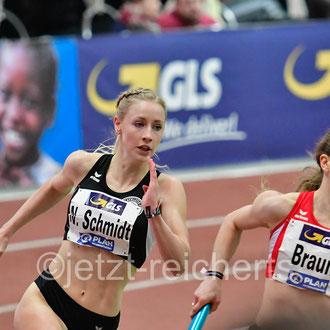 Nelly Schmidt; LT DSHS Köln / Nina Braun; LG Olympia Dortmund