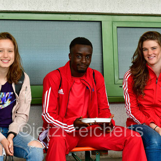 Alena Dahncke; Albert Yorke; Fiona Nachtigall (Hamburger SV)