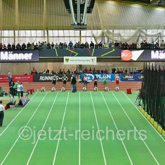 60m Zwischenlauf der Männer