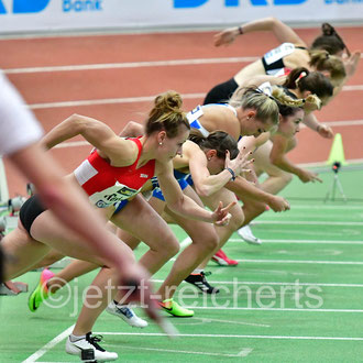60m Hürden Vorlauf der Frauen: Xenia Rahn; MTV Hanstedt
