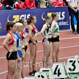 Johanna Bechthold; LG Olympia Dortmund / Rebekka Haase; LV 90 Erzgebirge / Lisa Nippgen; LAZ Ludwigsburg / Tabea Schulz; TSV Wehdel
