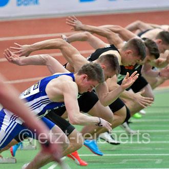 60m Vorlauf der Männer