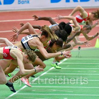 60m Finale der Frauen