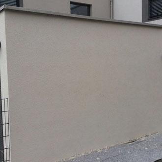 Mauersanierung nachher