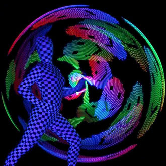 Lasershow in Freiberg - Fantômes de Flammes