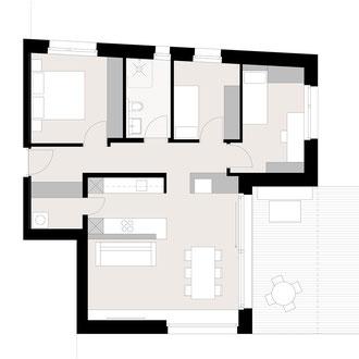 Wohnung von Wohnbauträger aufwerten
