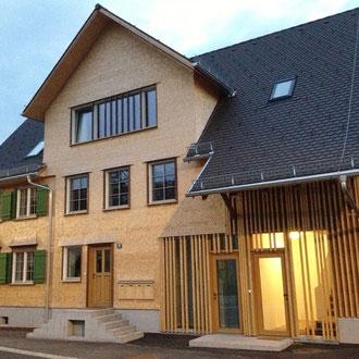 Mehrfamilienhaus / Sanierung Bauernhaus Rheintalhaus