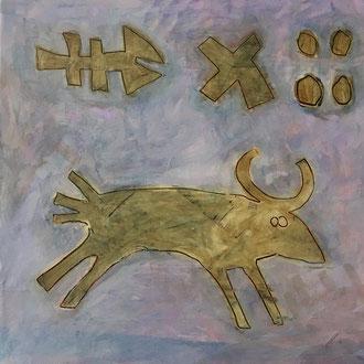 Agathe De Filippi - Peinture 1 - Technique mixte -Auroch