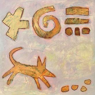 Agathe De Filippi - Peinture 3 - Technique mixte - Labraniche on tracks