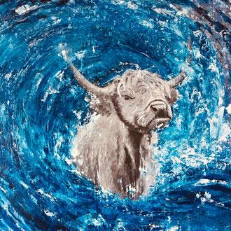 Kind von Kuh