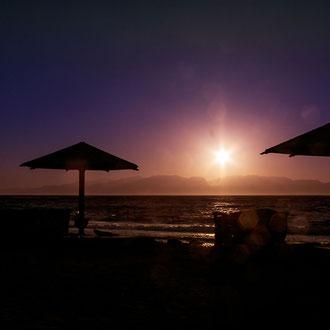 Sonnenuntergang in Dahab