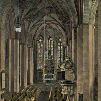 Innenansicht der Sankt Marien Kirche