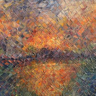 """<span id=""""titcol"""">Mosaik-Bild 4 <span/><span id=""""bezcol"""">Öl</br>120 x 100 cm<span/>"""