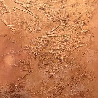 "<span id=""titcol"">Bronze <span/><span id=""bezcol"">Mischtechnik Marmormehl Bronze</br>80 x 100 cm<span/>"