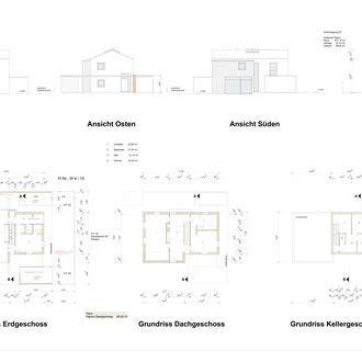 Einfamilienhaus Dachau - Pläne