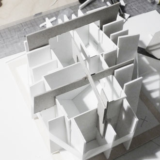 Doppelhaus Neu-Ulm - Modell