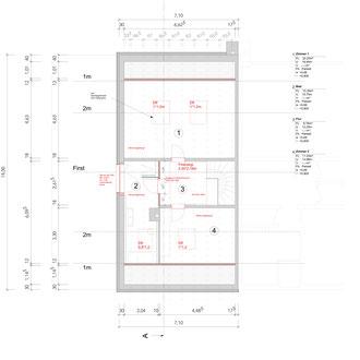 Doppelhaushälfte Feldmoching - Plan